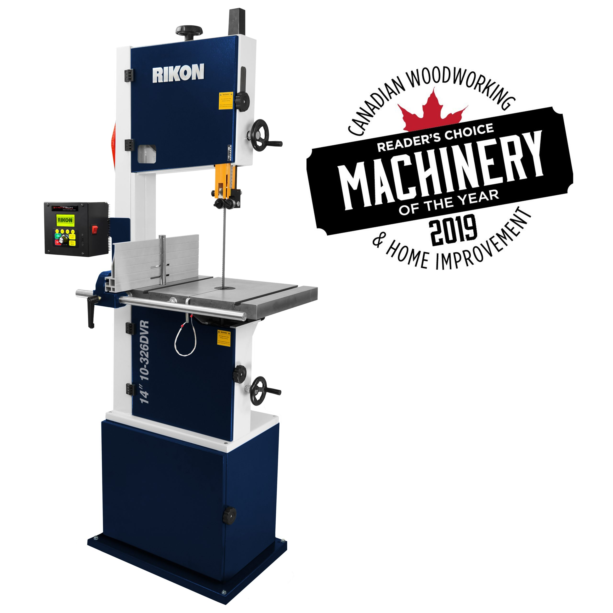Rikon Dvr Bandsaw Voted This Years Canadian Woodworking Machinery