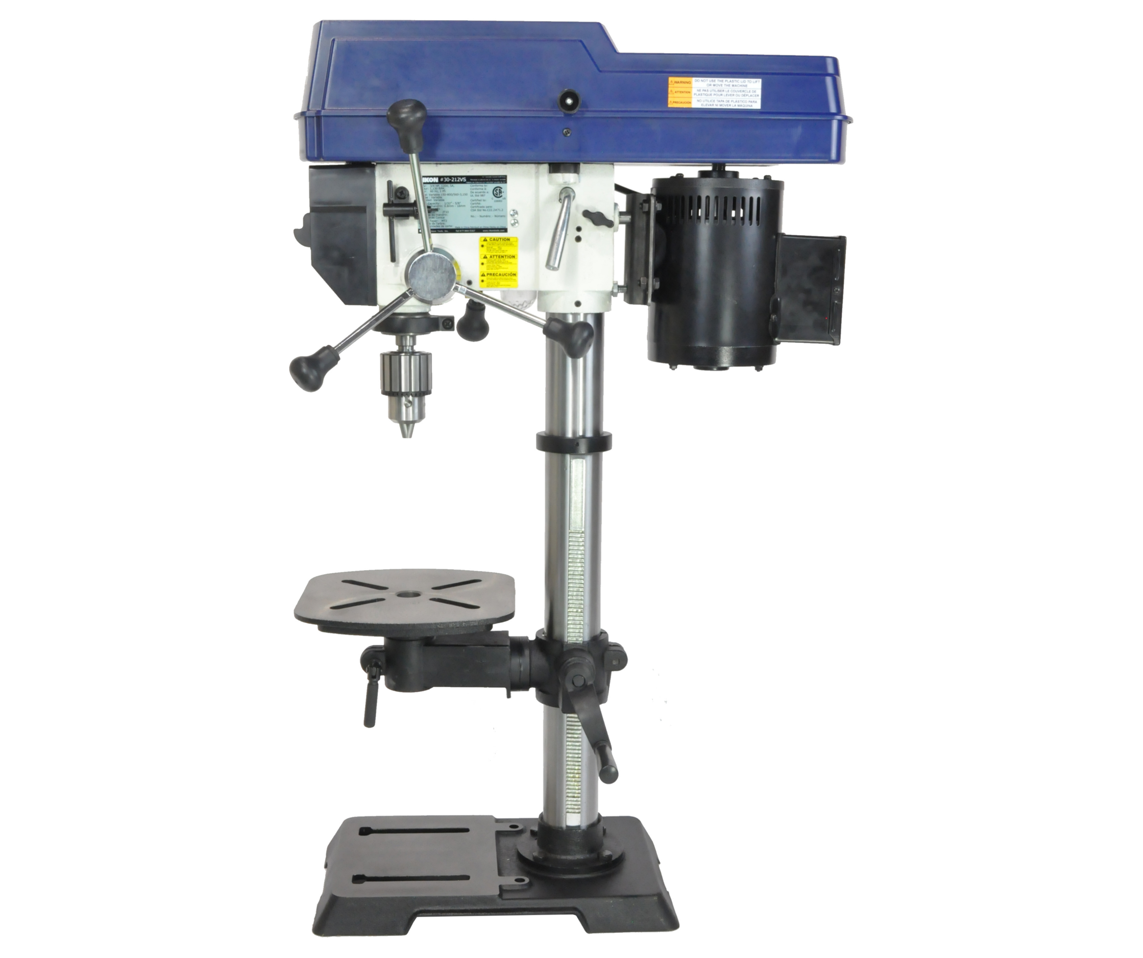"12"" VS Drill Press Rikon 30-212VS"