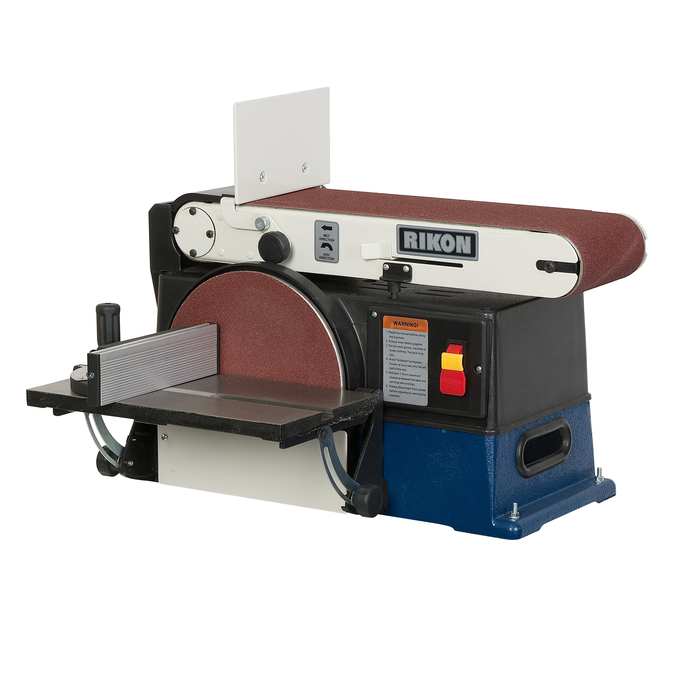 Model 50 120 6 Quot X 48 Quot Belt 10 Quot Disc Sander Rikon Power