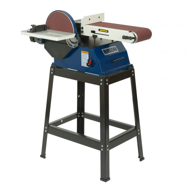 Model 50 122 6 x 48 belt 10 disc sander rikon power for 10 sanding disc for table saw