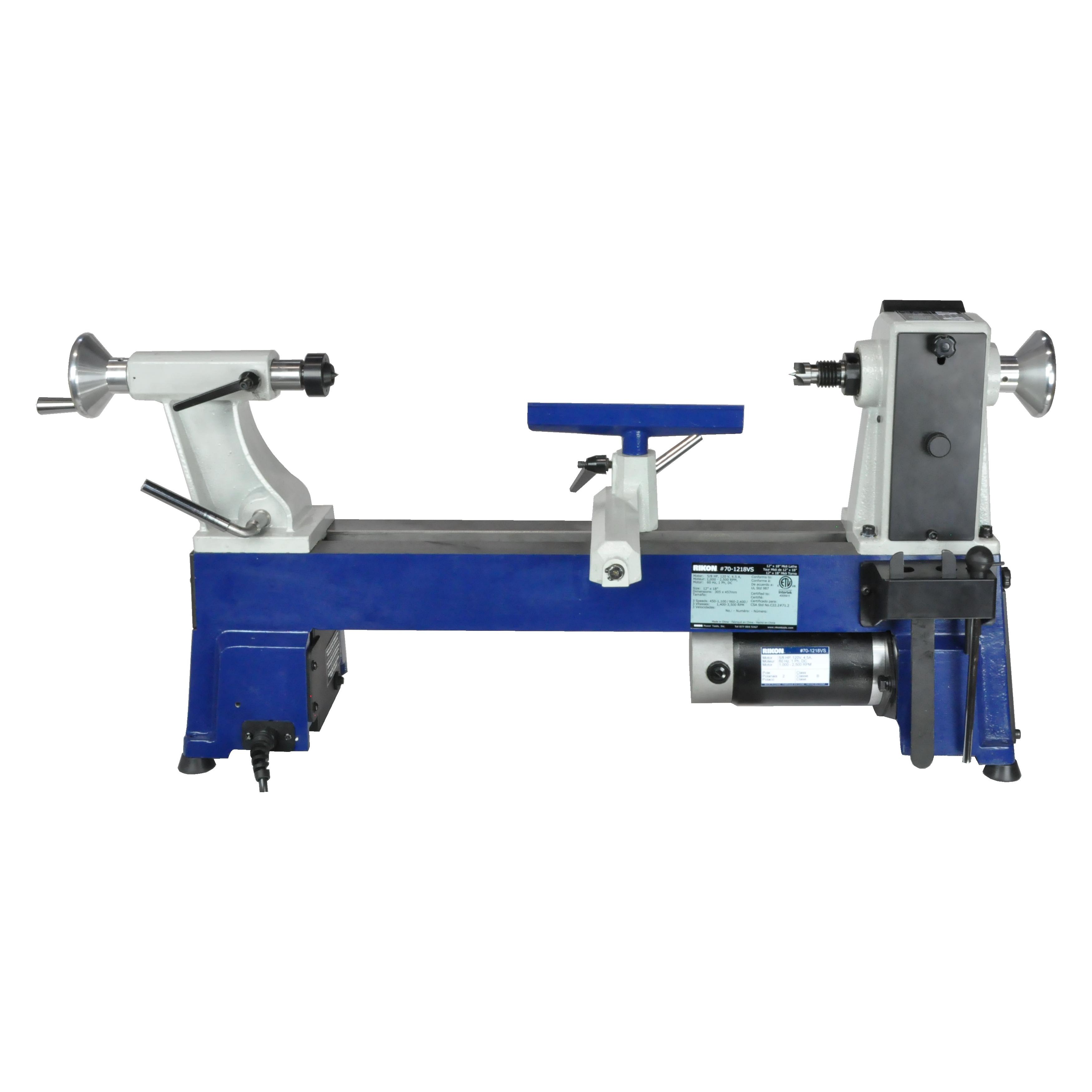Model 70 1218vs 12 X 18 Midi Lathe Rikon Power Tools