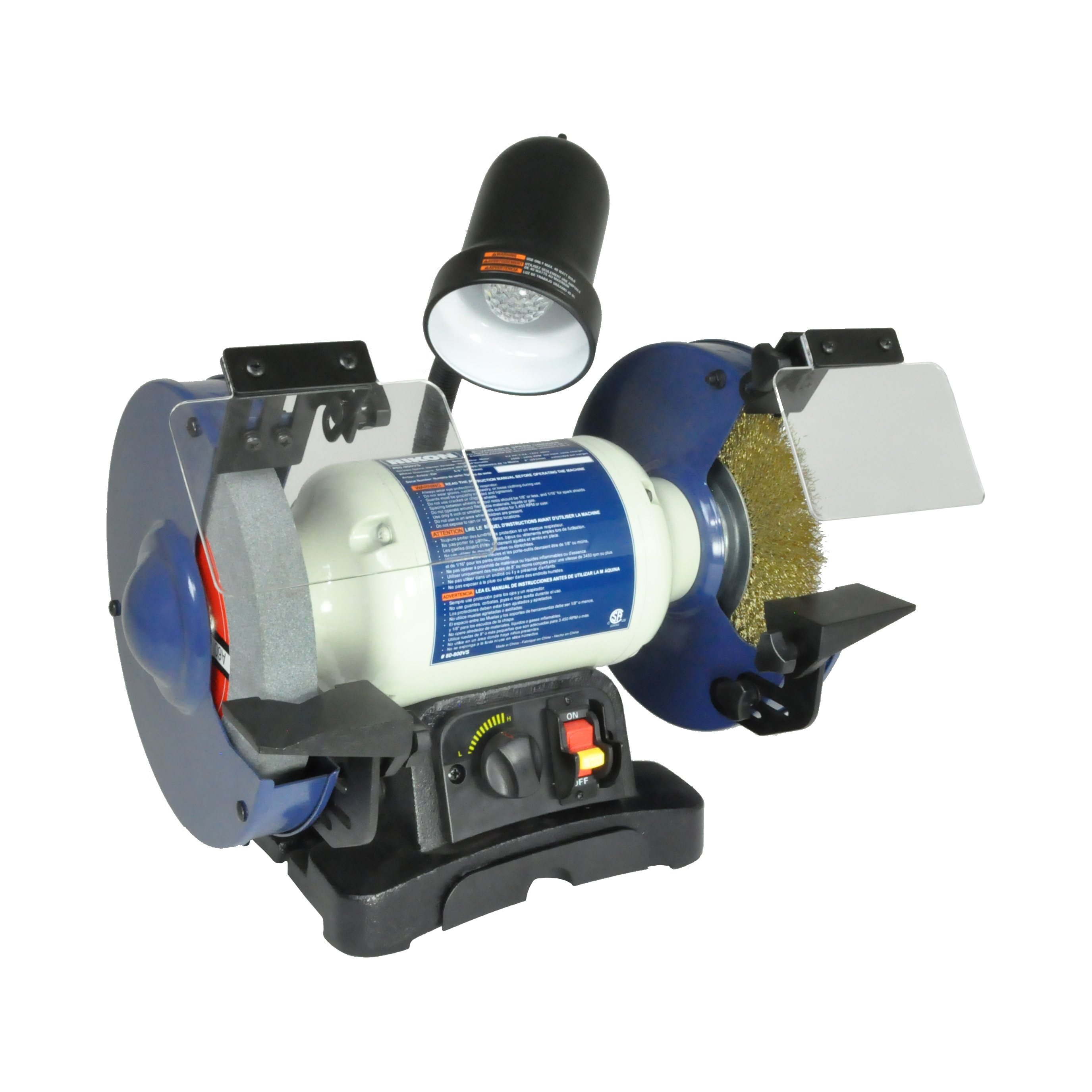 Model 80800vs 8 Variable Speed Bench Grinder Rikon Power Tools. Model 80800vs 8 Variable Speed Bench Grinder. Wiring. Bench Grinder Light Wiring Diagram At Scoala.co