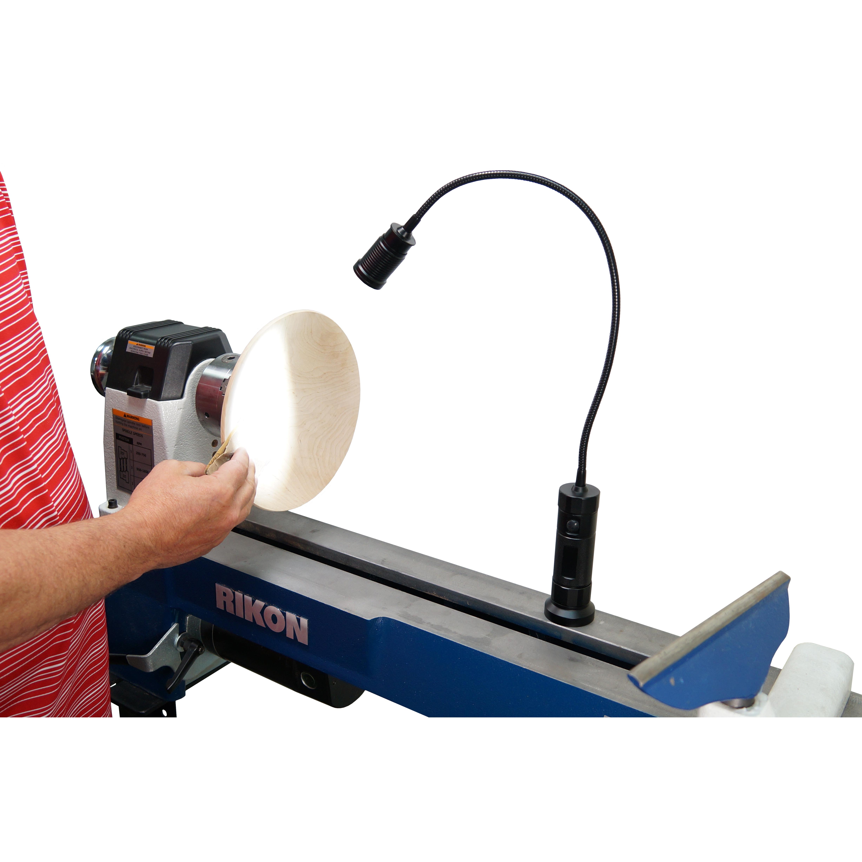 Stupendous 12 201 Led Gooseneck Worklight Rikon Power Tools Ibusinesslaw Wood Chair Design Ideas Ibusinesslaworg